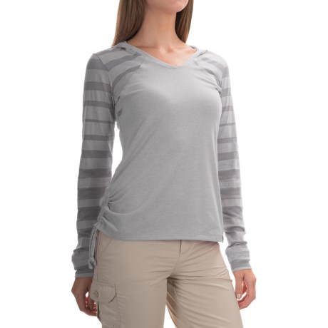 Mountain Hardwear DrySpun Perfect Hooded Shirt - UPF 25+, Long Sleeve (For Women)