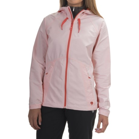 Mountain Hardwear Wind Activa Hooded Jacket (For Women)