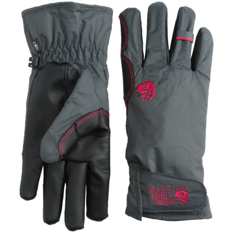 Mountain Hardwear Plasmic OutDry® Gloves - Waterproof, Touchscreen Compatible (For Women)