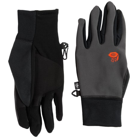 Mountain Hardwear Desna Stimulus Soft Shell Gloves - Touchscreen Compatible (For Men)