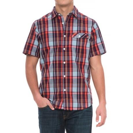 Mountain Hardwear Farthing Plaid Shirt - Short Sleeve (For Men)
