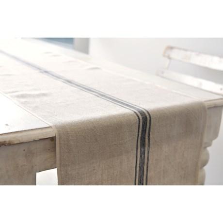 """Caravan Vintage Linen Table Runner - 16x72"""""""