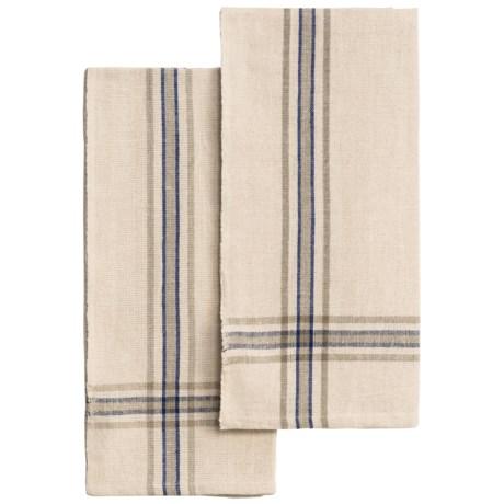 Caravan Khadi Tea Towels - Set of 2