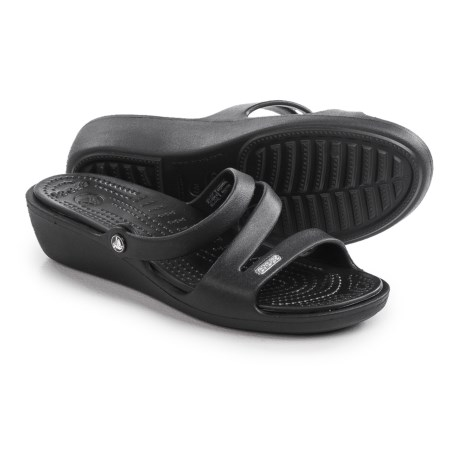 Crocs Patricia Wedge Sandals (For Women)