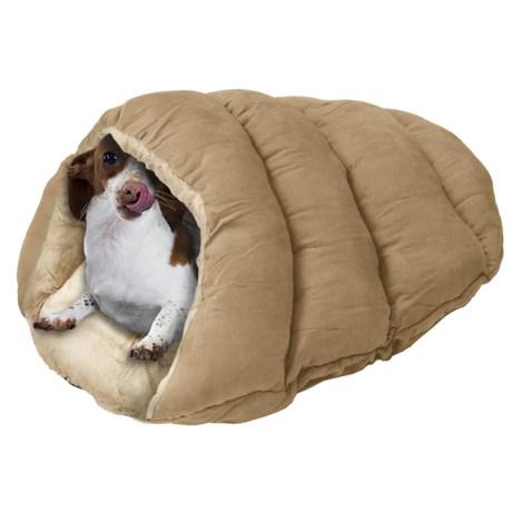 "Sleep Zone Cuddle Cave Pet Bed - 22x17"""
