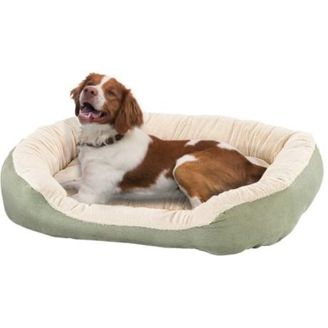 "Sleep Zone Oval Step-In Dog Bed - 31x26"""