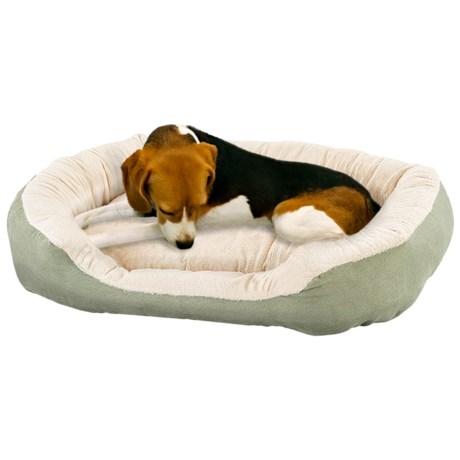 "Sleep Zone Oval Step-In Dog Bed - 26x21"""