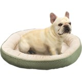 Sleep Zone Checkerboard Napper Pet Bed - 20x20""