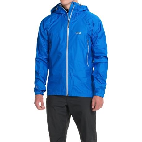 Rab Atmos Pertex® Shield+ Hooded Jacket - Waterproof (For Men)