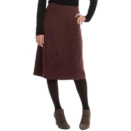 A-Line Knit Skirt (For Women)
