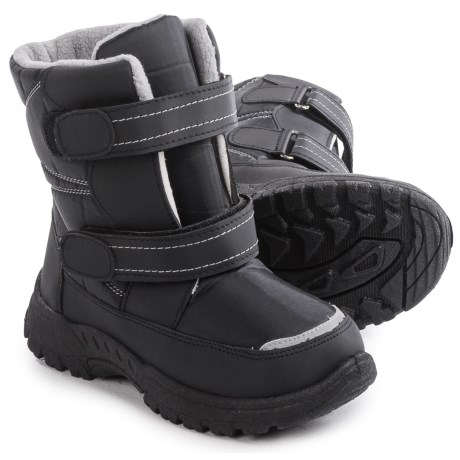 Rugged Bear Double-Strap Snow Boots - Insulated (For Little and Big Kids)