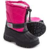 Rugged Bear Butterfly Snow Boots - Insulated (For Little and Big Girls)