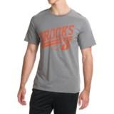 Brooks Heritage Running T-Shirt - UPF 30+, Crew Neck, Short Sleeve (For Men)
