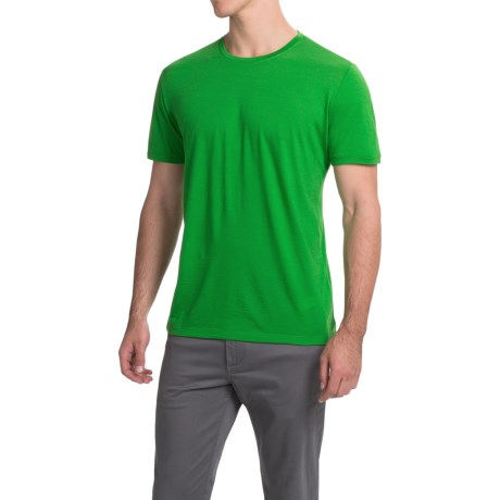 Icebreaker Tech Lite T-Shirt - Merino Wool, Crew Neck, Short Sleeve (For Men)