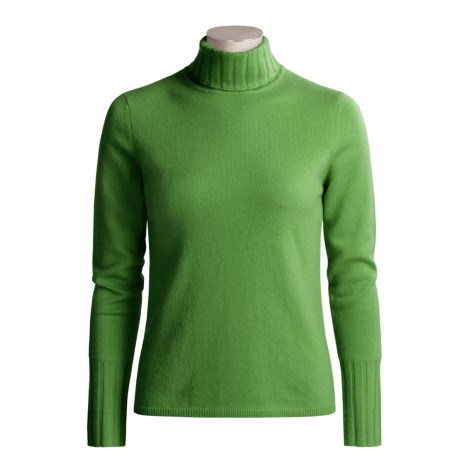 Forte Cashmere Turtleneck Sweater (For Women)