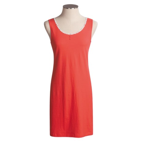 Calida Sunshine Nightgown - Cotton, Sleeveless (For Women)