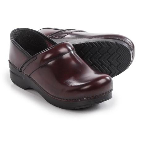 Dansko Narrow Pro Clogs - Leather (For Women)