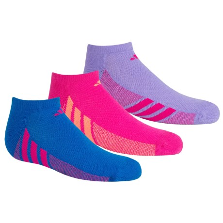 adidas outdoor ClimaCool® Cushioned Socks - 3-Pack, Below the Ankle (For Big Girls)