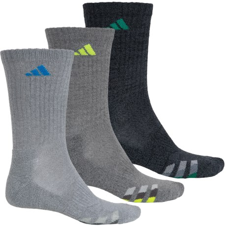 adidas outdoor ClimaLite® Cushioned Socks - 3-Pack, Crew (For Big Kids)