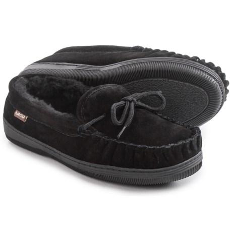 LAMO Footwear Suede Moccasins - Fleece Lined (For Women)