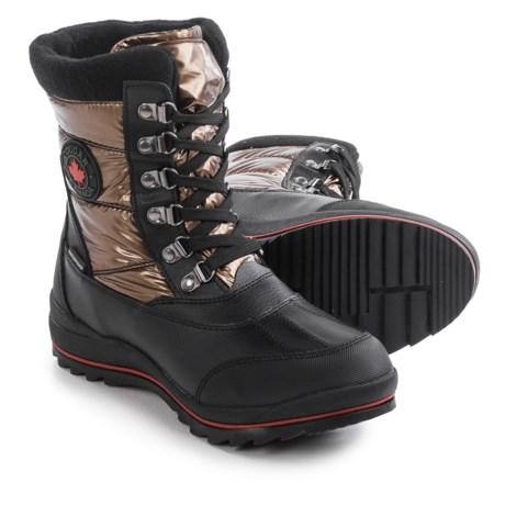 Cougar Chamonix Shimmer Pac Boots - Waterproof (For Women)