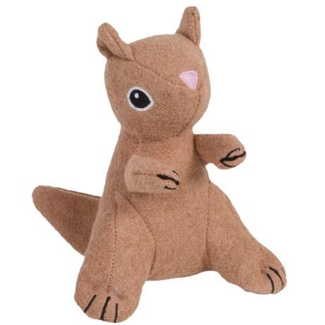Jax & Bones Woolie Dog Squeak Toy - Medium