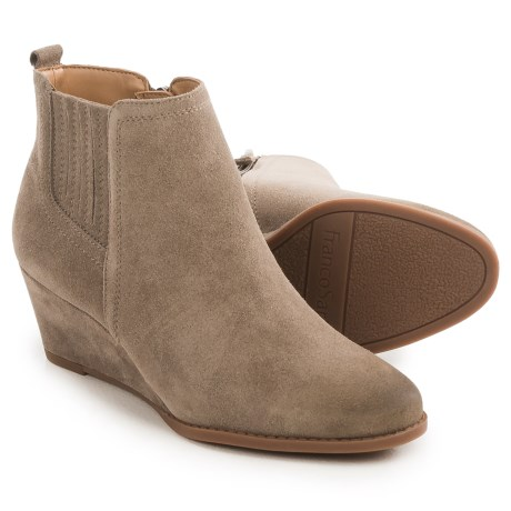 Franco Sarto Welton Wedge Boots - Suede (For Women)