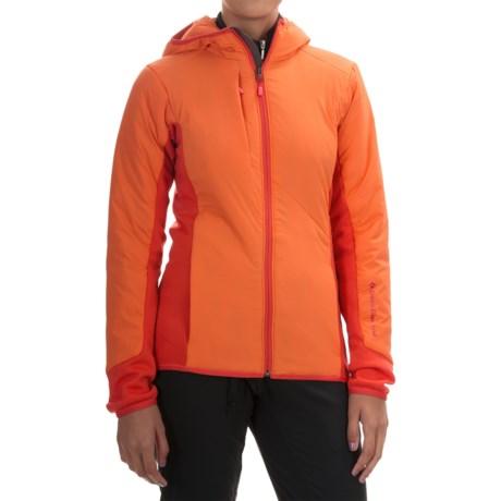 Black Diamond Equipment Deployment Hybrid Hooded Jacket - Merino Wool Blend, Insulated (For Women)