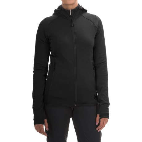 Black Diamond Equipment Compound Hooded Jacket - Polartec® Power Stretch® (For Women)