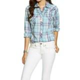Ariat Loren Snap-Front Shirt - Chain Stitching, Long Sleeve (For Women)