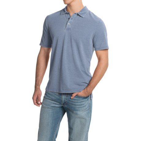 Threads 4 Thought Blake Polo Shirt - Organic Cotton, Short Sleeve (For Men)