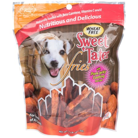 Carolina Prime Coated Sweet Tater Fries Dog Treats - 1 lb.