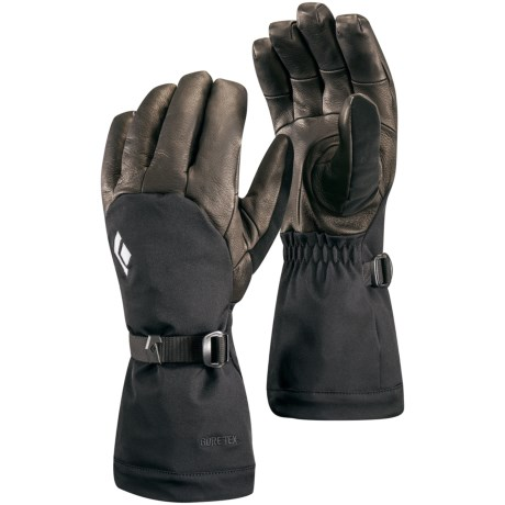Black Diamond Equipment Super Rambla Gore-Tex® Gloves - Waterproof, Insulated (For Men and Women)