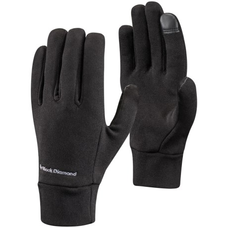 Black Diamond Equipment Lightweight Liner Gloves - Touchscreen Compatible