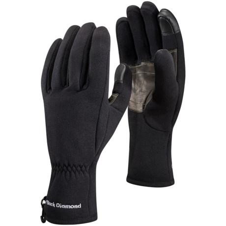 Black Diamond Equipment Heavyweight Digital Liner Gloves - Touchscreen Compatible