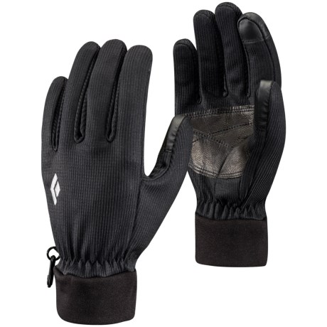 Black Diamond Equipment Windstopper® Digital Liner Gloves - Touchscreen Compatible