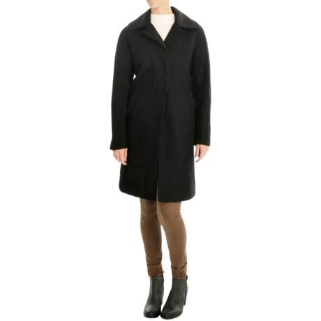 Ellen Tracy Outerwear Wool-Blend Walker Coat (For Women)