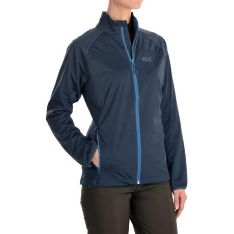 Jack Wolfskin Crosswind Soft Shell Jacket (For Women)