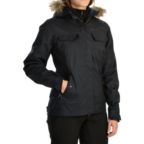 Jack Wolfskin Cypress Mountain Texapore Jacket - Waterproof (For Women)