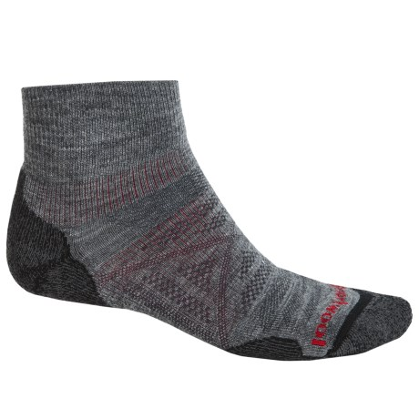 SmartWool PhD Outdoor Light Mini Socks - Merino Wool, Ankle (For Men and Women)