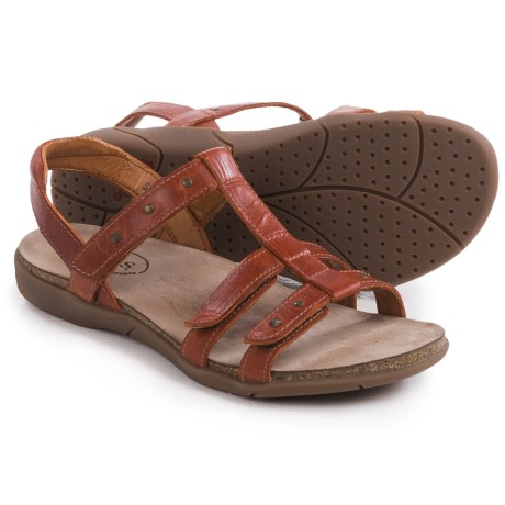 Taos Footwear Enchanted Leather Sandals (For Women)