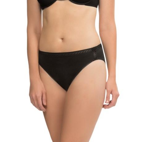 OnGossamer Cabana Hi-Cut Brief Panties - Pima Cotton (For Women)