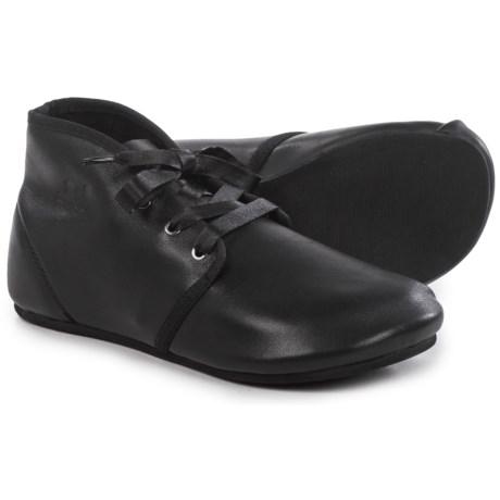 OTZ Shoes Bottine Leather Lace Shoes (For Women)