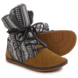 OTZ Shoes Troop Shearling Ankle Boots - Suede (For Women)