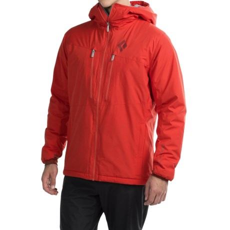 Black Diamond Equipment Heat Treat Windstopper® Hooded Jacket - PrimaLoft® (For Men)