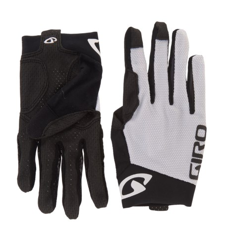Giro Rivet II Cycling Gloves - Full Finger, Touchscreen Compatible (For Men and Women)