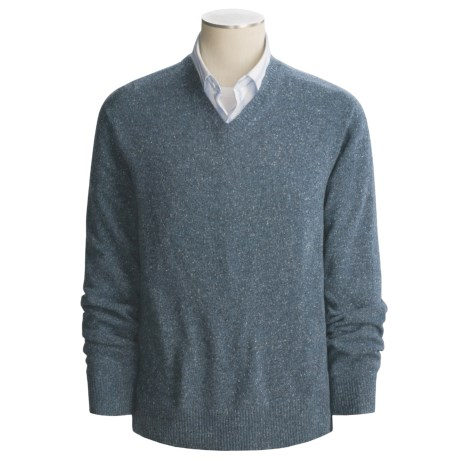 Martin Gordon Donegal Sweater - Wool Blend, V-Neck (For Men)