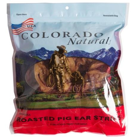 Colorado Naturals Pig Ear Strips - 24-Count