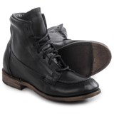 Vintage Shoe Company Vanessa Moc-Toe Boots - Leather, Lace-Ups (For Women)