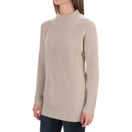 Magaschoni Wool and Cashmere Sweater - Loose Fit, Long Sleeve (For Women)